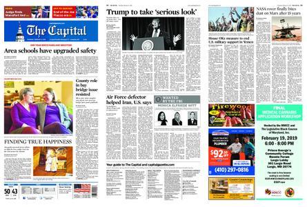 The Capital – February 14, 2019
