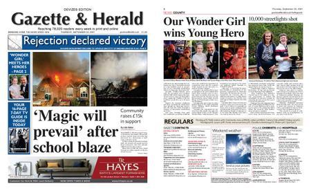 Gazette & Herald – September 23, 2021