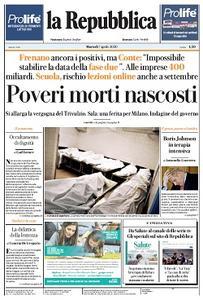 la Repubblica - 7 Aprile 2020