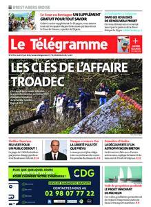 Le Télégramme Brest Abers Iroise – 17 juin 2021