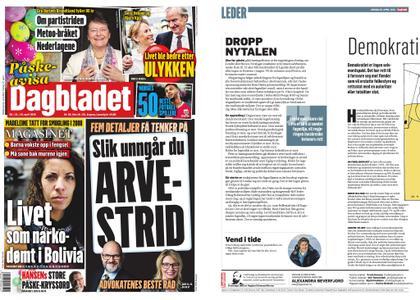 Dagbladet – 20. april 2019