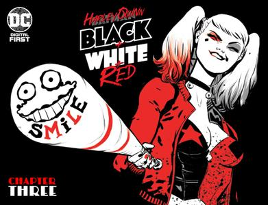 Harley Quinn Black + White + Red 003 2020 digital Son of Ultron