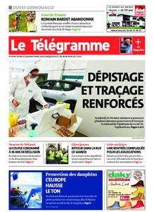 Le Télégramme Ouest Cornouaille – 12 septembre 2020
