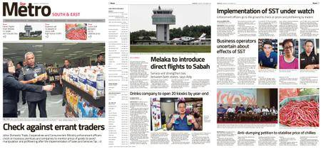 The Star Malaysia - Metro South & East – 13 September 2018