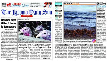 The Laconia Daily Sun – November 18, 2020
