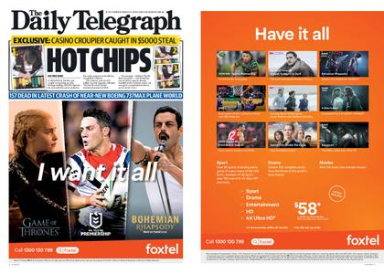 The Daily Telegraph (Sydney) – March 11, 2019