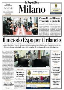 la Repubblica Milano - 30 Aprile 2020