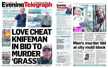 Evening Telegraph First Edition – September 13, 2018