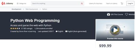 Udemy - Python Web Programming