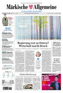 Märkische Allgemeine Luckenwalder Rundschau - 21. Dezember 2017