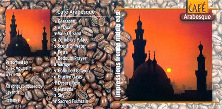 Cafe Arabia - New style Arabian Ethnic/Traditional music