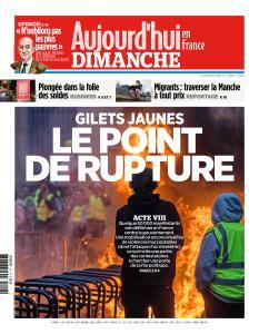 Aujourd'hui en France du Dimanche 6 Janvier 2019