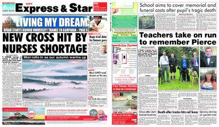 Express and Star City Edition – October 10, 2017
