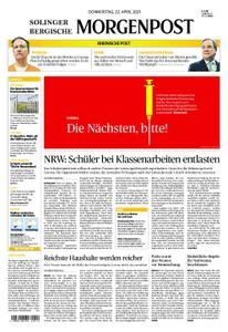Solinger Morgenpost – 22. April 2021