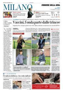 Corriere della Sera Milano – 24 dicembre 2020
