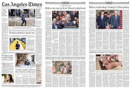 Los Angeles Times – August 15, 2020