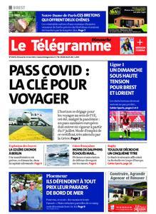 Le Télégramme Brest Abers Iroise – 23 mai 2021