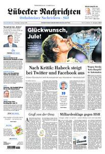 Lübecker Nachrichten Ostholstein Süd - 08. Januar 2019