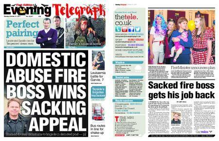 Evening Telegraph First Edition – October 31, 2017