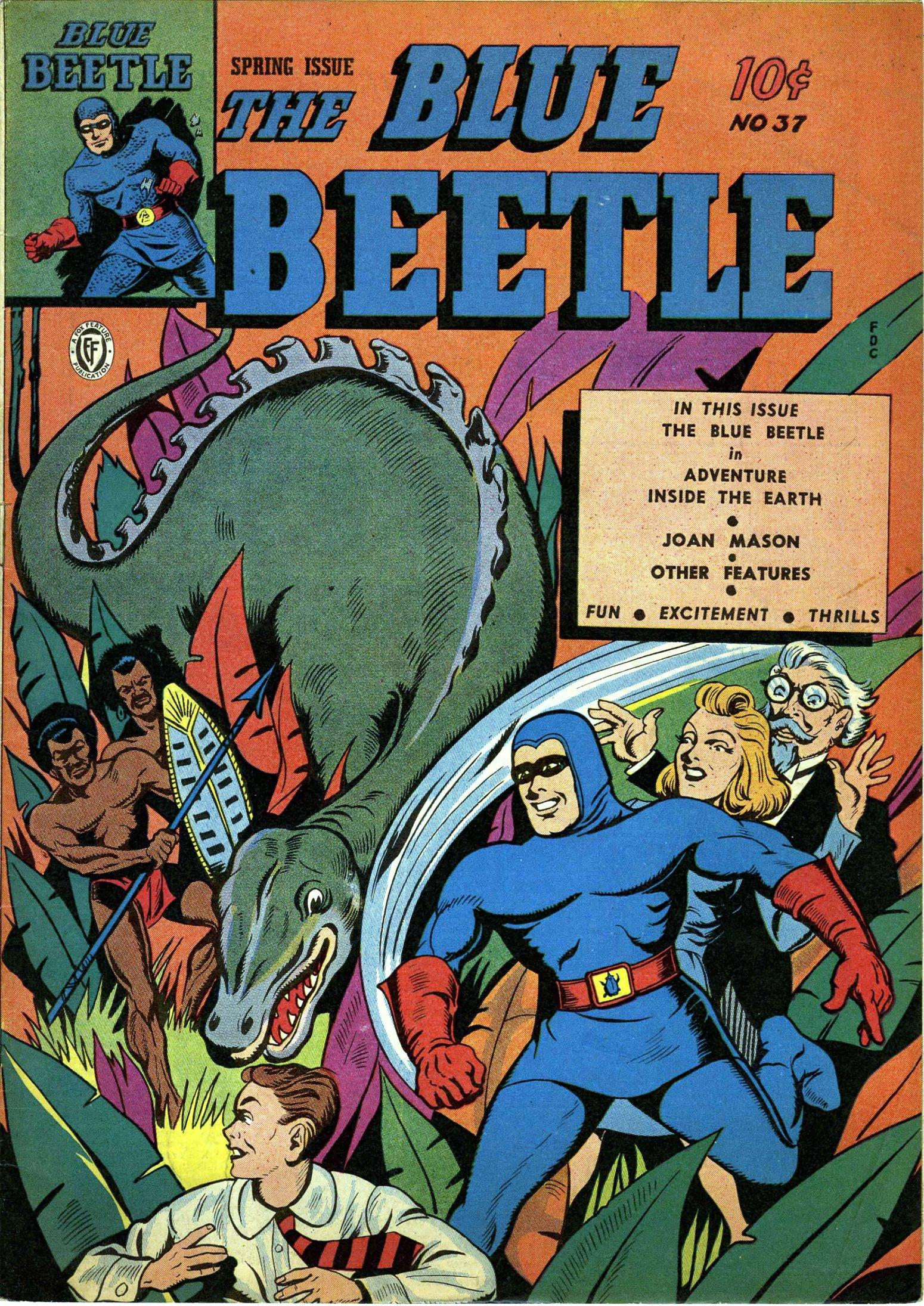 Blue Beetle v1 037 1945 Fox inc rangerhouse