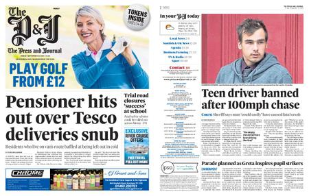 The Press and Journal Moray – September 13, 2019