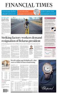 Financial Times Europe - 18 August 2020