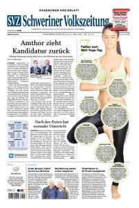 Schweriner Volkszeitung Hagenower Kreisblatt - 20. Juni 2020
