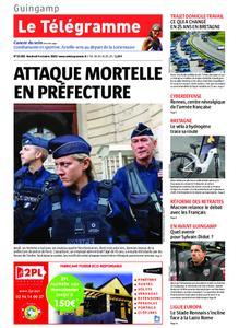 Le Télégramme Guingamp – 04 octobre 2019