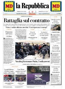 la Repubblica - 1 Febbraio 2021