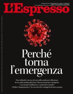 L'Espresso N.43 - 18 Ottobre 2020