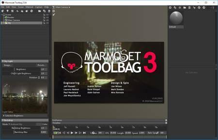 Marmoset Toolbag 3.08 (x64)