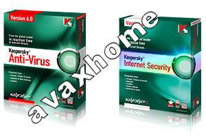 Kaspersky Anti Virus & Kaspersky Internet Security 6.0.2.6  US for Windows Vista