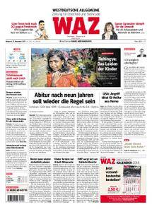 WAZ Westdeutsche Allgemeine Zeitung Oberhausen-Sterkrade - 15. November 2017