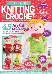 Let's Get Crafting Knitting & Crochet - Issue 124 - August 2020