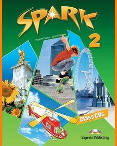ENGLISH COURSE • Spark • Level 2 • AUDIO • Class CDs and Workbook CD (2010)