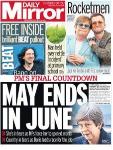Daily Mirror (Northern Ireland) - May 17, 2019
