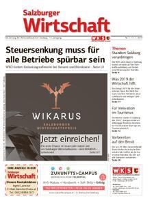 Salzburger Wirtschaft – 11. Januar 2019