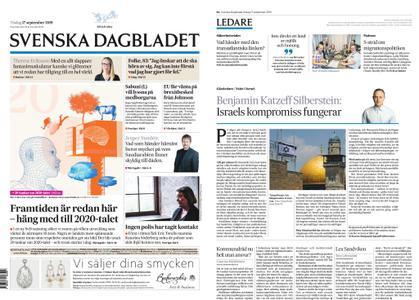 Svenska Dagbladet – 17 september 2019