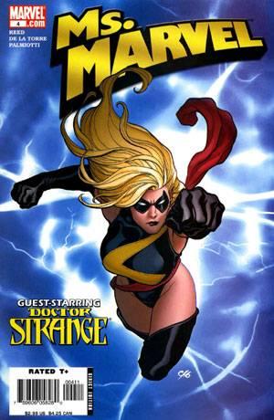 Ms. Marvel Vol.1 No.4 Aug 2006
