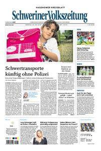 Schweriner Volkszeitung Hagenower Kreisblatt - 30. Juli 2018