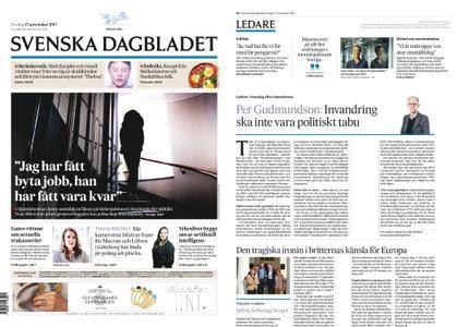 Svenska Dagbladet – 17 november 2017