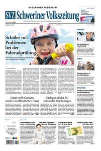 Schweriner Volkszeitung Hagenower Kreisblatt - 03. März 2020