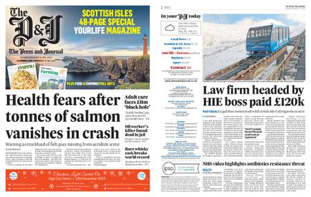 The Press and Journal Moray – November 16, 2019