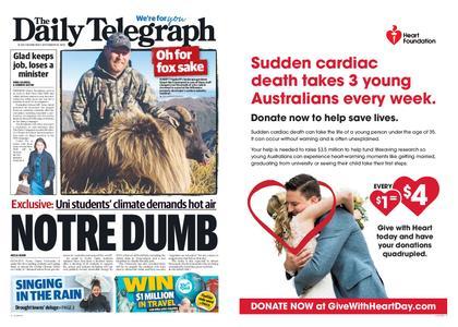 The Daily Telegraph (Sydney) – September 18, 2019