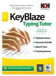 NCH KeyBlaze Typing Tutor Plus 3.02 Beta