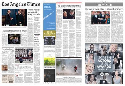 Los Angeles Times – January 17, 2020