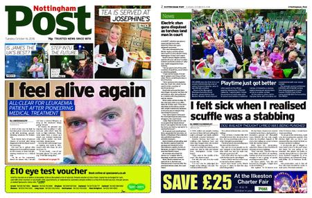 Nottingham Post – October 16, 2018