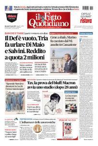 Il Fatto Quotidiano - 10 aprile 2019