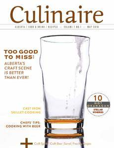 Culinaire Magazine - May 2018