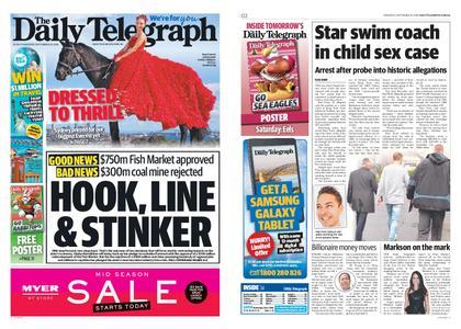 The Daily Telegraph (Sydney) – September 19, 2019